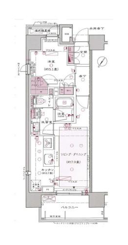 Ftype (1LDK ) 206-1206